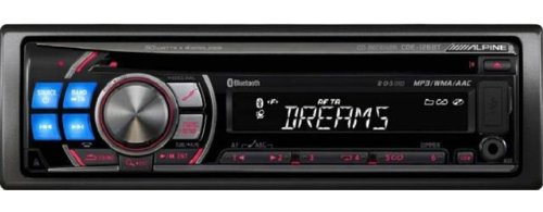Alpine CDE-126BT - Radio / CD / MP3 player / digital player