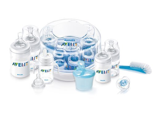 Philips Avent Bpa Free Classic Polypropylene Essentials Gift Set Gift, Baby, Newborn, Child