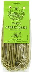 Morelli Linguine with Garlic and Basil, Aglio e Basilico with Wheat Germ, 250g