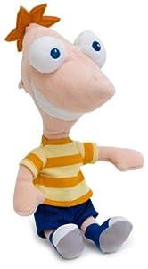 Joy Toy 1000042 - Phineas und Ferb-Phineas Plüsch 20 cm