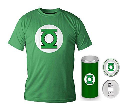 DC Comics T-Shirt Green Lantern Logo Deluxe Edition Size L SD Toys
