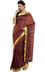 BANGALORE DUPIAN AND FLORAL SILK SAREE COLLECTIONS-Maroon-POSB1247-VN-Art Silk Silk-Maroon-POSB1247-VN-Art Silk Silk