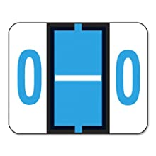 Smead Color-Coded Alphabetic Label, O Roll, Blue, 1 Roll (67085)