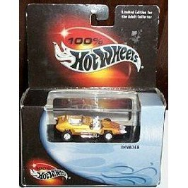 Mattel 100% Hot Wheels Collector Quality Limited Edition Invader Car - 1