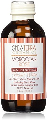 Shea Terra Eau de Rose du Maroc Distillate Water 4 oz.