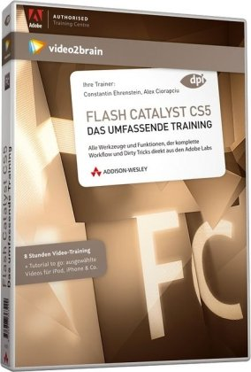 Video2Brain Flash Catalyst CS5 DVD