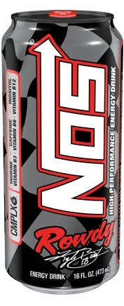 NOS High Performance Energy Drinks (Rowdy) (Nos Energy Drinks compare prices)
