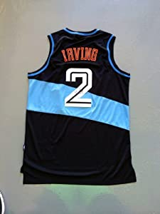 Kyrie Irving Signed Cleveland Cavaliers TB Jersey JSA