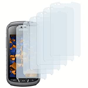 6 x mumbi Displayschutzfolie Samsung Galaxy Xcover 2 Schutzfolie