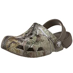 Crocs Electro Realtree Clog (Toddler/Little Kid),Chocolate/Chocolate,C7 M US Toddler