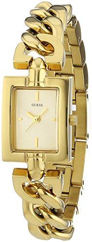 Guess Damen-Armbanduhr XS Analog Quarz Edelstahl beschichtet W0437L2