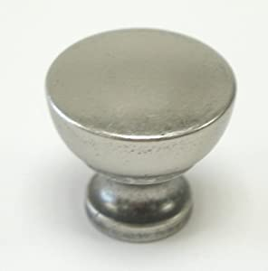 Top Knobs M1202  Dakota Knob Pewter