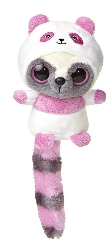 "Aurora World YooHoo & Friends Wanna Be Pink Panda Plush, 5"" Tall"
