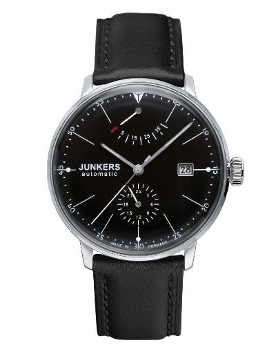 Junkers Bauhaus Automatic Watch With Power Reserve And