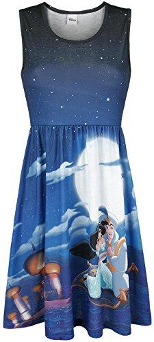 Walt Disney Aladdin & Jasmin Abito blu XL