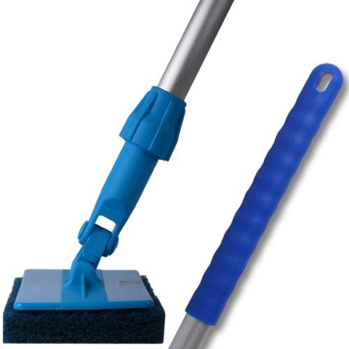 doodlebug-cleaning-system-137cm-54-handle-23cm-9-frame-26cm-10-abrasive-scouring-pad-137cm-54-handle