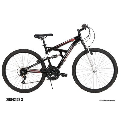Huffy Men's DS-3 Mountain Bike (26-Inch, Black)