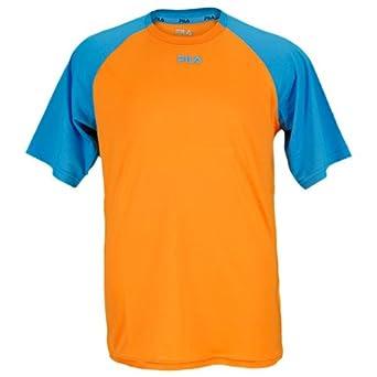 Buy Fila Boy's Baseline Raglan Short Sleeve Crew Shirt by Fila
