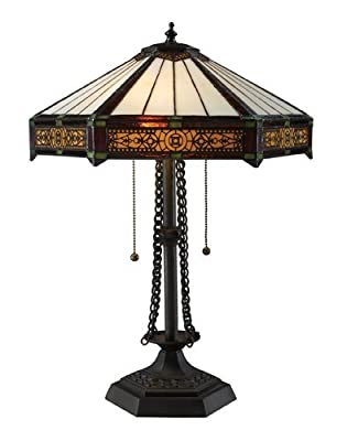 Dimond Lighting D1852 2 Light Table Lamp from the Filigree Collection,