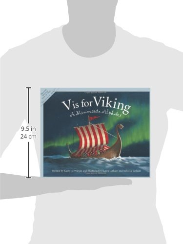 V Is for Viking: A Minnesota Alphabet (Discover America State By State. Alphabet Series)