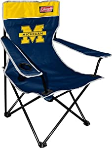 NCAA Michigan Wolverines Coleman Folding Chair With Carrying Case