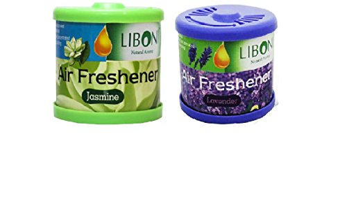 Auto Car Winner Liboni Jasmine & Lavender Combo Air freshner for Car/Home/Office