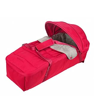 Maclaren Techno XLR Carrycot - Persian Red/Penguin Grey
