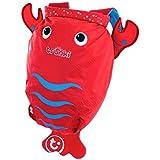 Trunki PaddlePak Water-Resistant Backpack - Pinch the Lobster (Red)