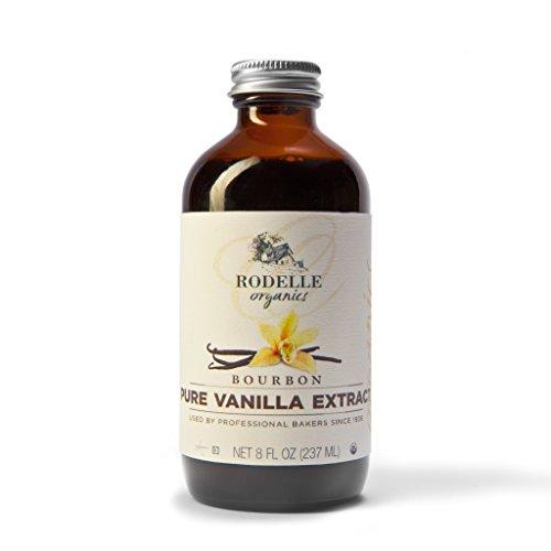 Rodelle Organics Pure Vanilla Extract Bourbon 8 Ounce