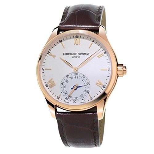 frederique-constant-mens-horological-smartwatch-42mm-brown-leather-band-quartz-analog-watch-285v5b4