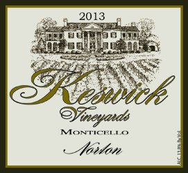 2013 Keswick Vineyards Norton 750 Ml