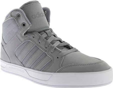 Adidas NEO Men's Raleigh Mid Lace Up Shoe,Grey/Grey/White,10 M US