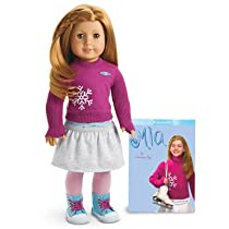 AMERICAN GIRL DOLL MIA AND PAPEBACK BOOK NEW