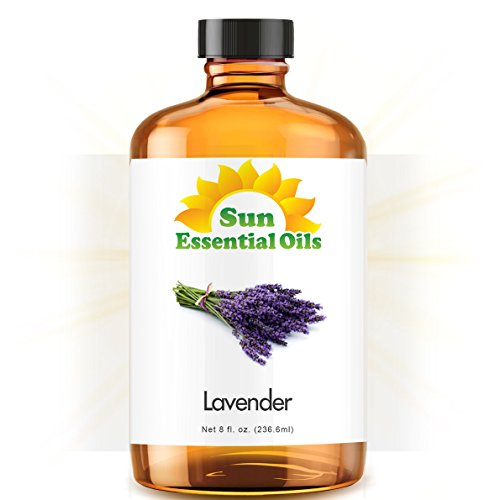 Lavender (Huge 8oz) Best Essential Oil (Lavender Essential Oil 16 Oz compare prices)