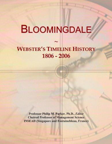 bloomingdale-websters-timeline-history-1806-2006