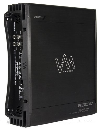 VM Audio SRA2200.1 2200W Mono AB Car Amplifier Power Amp MOSFET Stereo+Remote