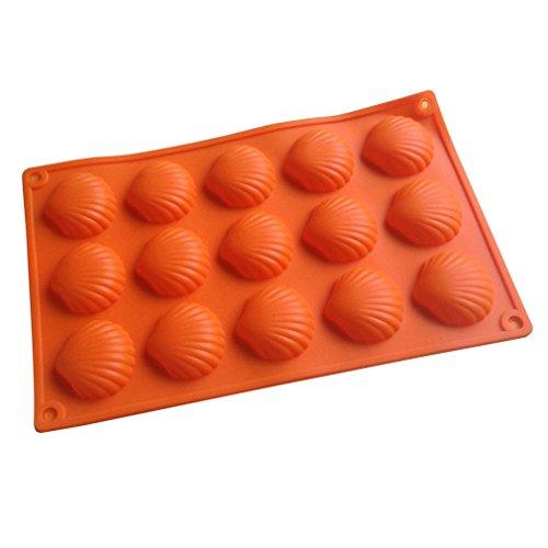 LYNCH Shell en forme de moule chocolat Jelly silicone Savon Fondant cuisson Outils