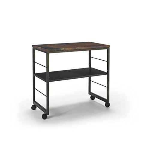 Homeware  Sawyer Copper End Table with Hand Rubbed Weathered Iron Finish