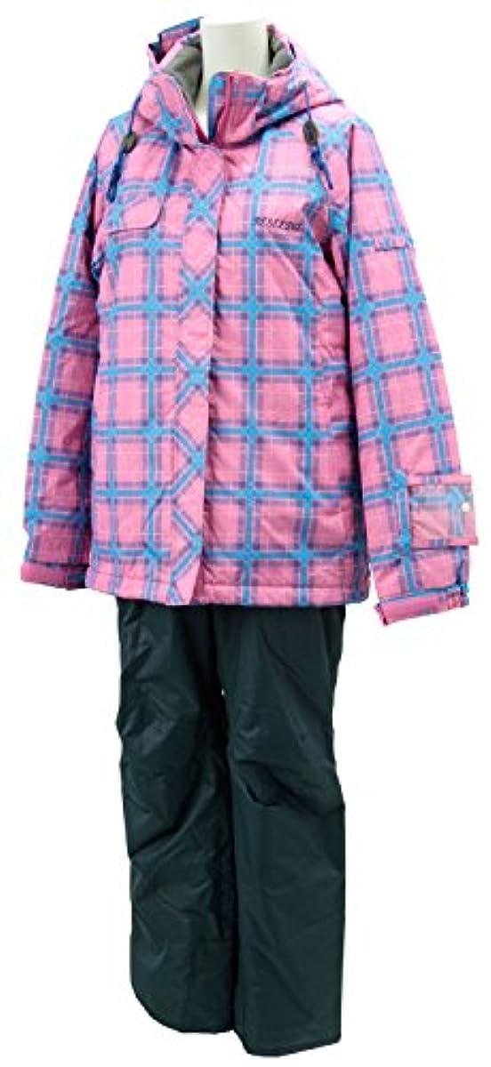 [해외] 온요네(ONYONE) RESEEDA 레이디스 스키 슈트 RES87001 핑크×charcoal M사이즈-RES87001 (2014-12-02)
