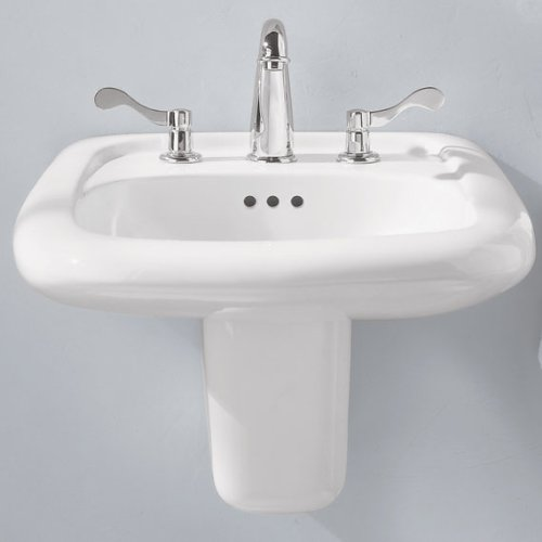 American Standard 0958.000.020 Murro Wall-Mount Sink with 8-Inch ...
