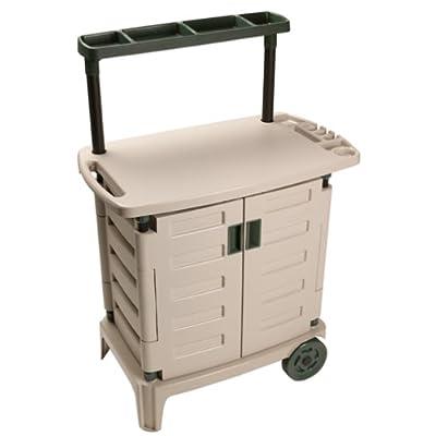 Amazon.com : Suncast BGC2000 Garden/Barbecue Cart (Discontinued by Manufacturer) : Storage Sheds ...