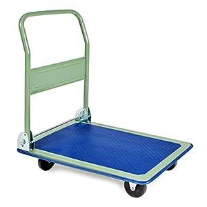 TecTake® Plattformwagen Handwagen klappbar bis 150 Kg