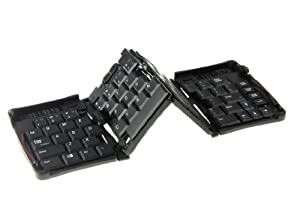 Portable Fold Mini USB Keyboard for Android Tablet Pc Black