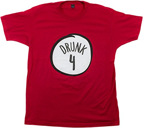 Drunk 4 | Funny Drinking Team, Group Halloween Costume Unisex T-shirt