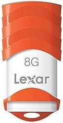 Lexar JumpDrive V30 8GB USB 2.0 Flash Drive - LJDV30-8GBABNL (Orange)