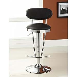tabouret de bar noir jackson cuisine maison. Black Bedroom Furniture Sets. Home Design Ideas