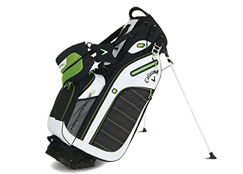 Callaway 2016 Hyper-Lite 5 Stand Bag, Black/White/Green