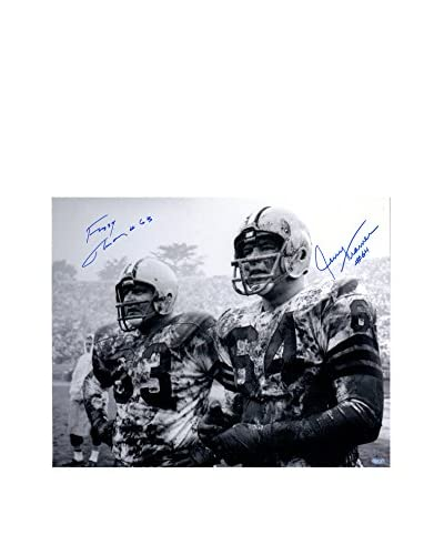 "Steiner Sports Memorabilia Fuzzy Thurston/Jerry Kramer Dual Signed Photo, 16"" x 20"""