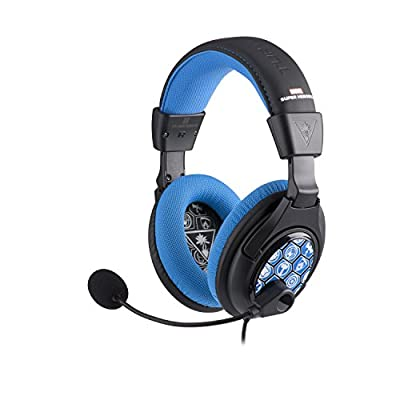 Turtle Beach Ear Force Disney Infinity: Marvel Super Heroes Stereo Gaming Headset for Xbox 360, PlayStation 4, Wii U, PC, and Mobile Devices (TBS-4256-01)