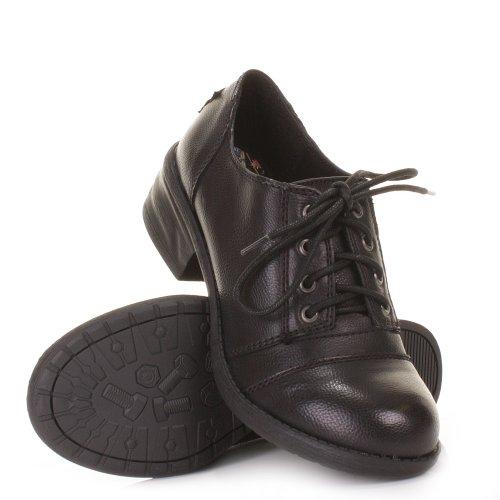 Womens Rocket Dog Delaney Black School Smart Shoes SIZE 3-8